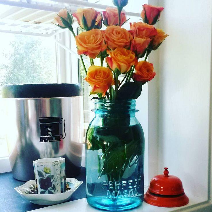 185 best blue mason jars images on pinterest blue mason for Why are mason jars called mason jars