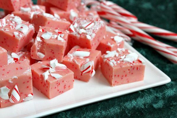 Candy Cane Fudge | Recipe Girl