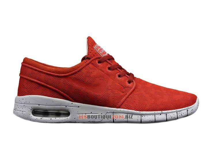 Nike SB Stefan Janoski Max GS - Chaussure Nike Skateboard Pas Cher Pour Femme/Enfant Light Crimson/Blanc - 1406220853 - Boutique de Chaussur...