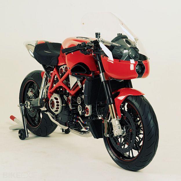 Ducati Cafe Racer Lust.
