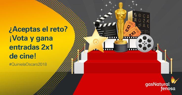 Y el Oscar será para… ¡Participa en la #QuinielaOscars2018! Sorteamos un lote de pelis con Oscar y 400 entradas 2x1 de Cinesa.
