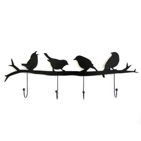Perchero Pájaros Hierro $ 399.0
