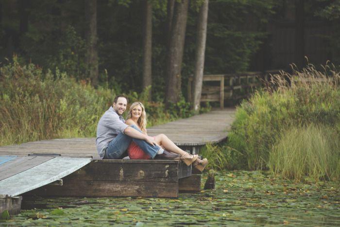 Whonnock Lake Engagement Session.