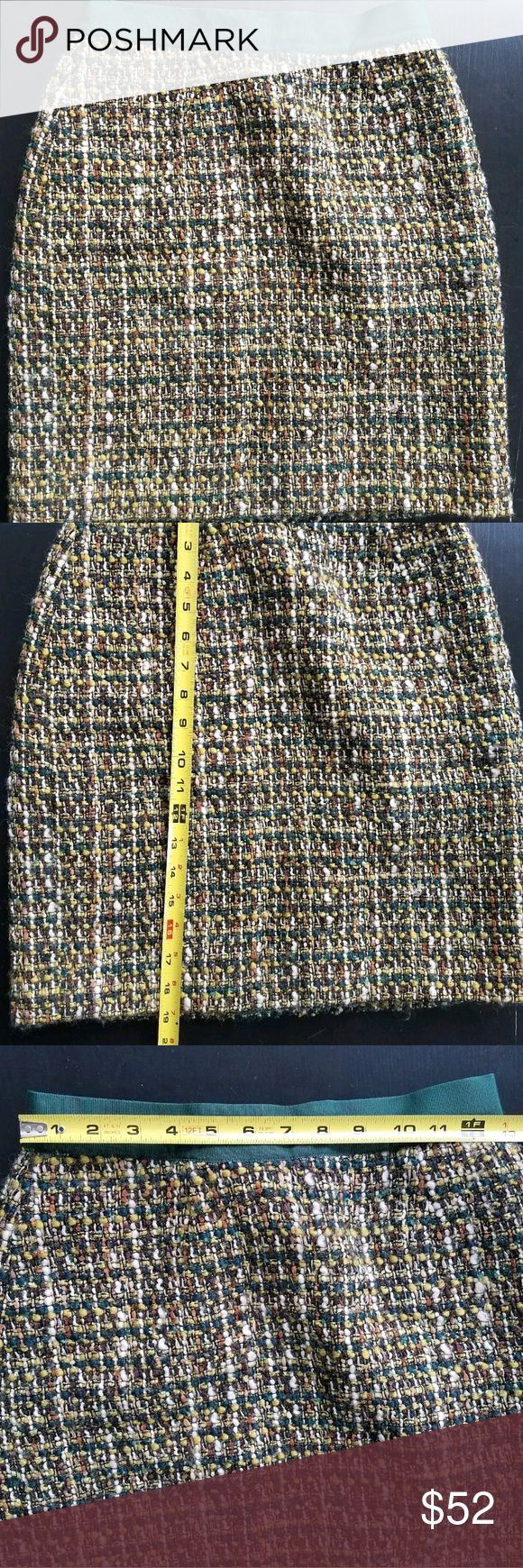 Kate Spade Skirt the Rules tweed skirt Great condition.  See pics for measurements. kate spade Skirts Mini