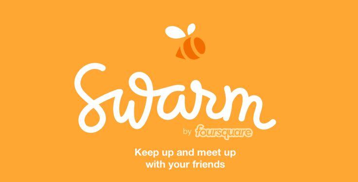 Foursquare Splits Up its Two Main Services and Launches Swarm App  - http://dashburst.com/foursquare-swarm-app/