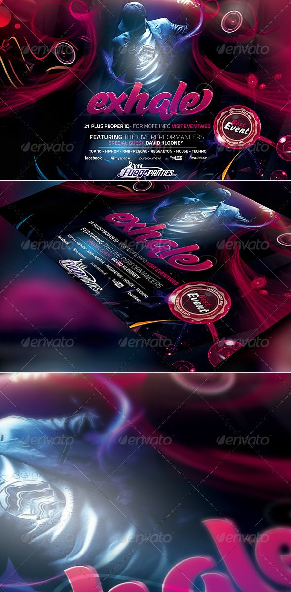 Best Music Flyers Images On   Music Flyer Flyers And
