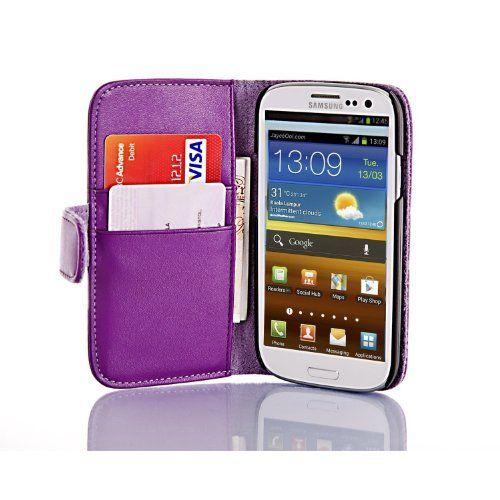 JAMMYLIZARD | Custodia VIOLA con taschino porta carte, comoda, slim ed elegante in pelle con Movie Stand per Samsung Galaxy S3, pellicola proteggi schermo e panno in microfibra inclusi, http://www.amazon.it/dp/B00BIFJRAU/ref=cm_sw_r_pi_awdl_RDPSub1GTMNJ0