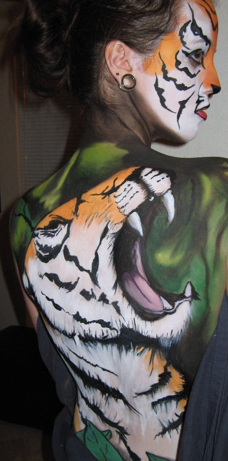 Tiger on your back!