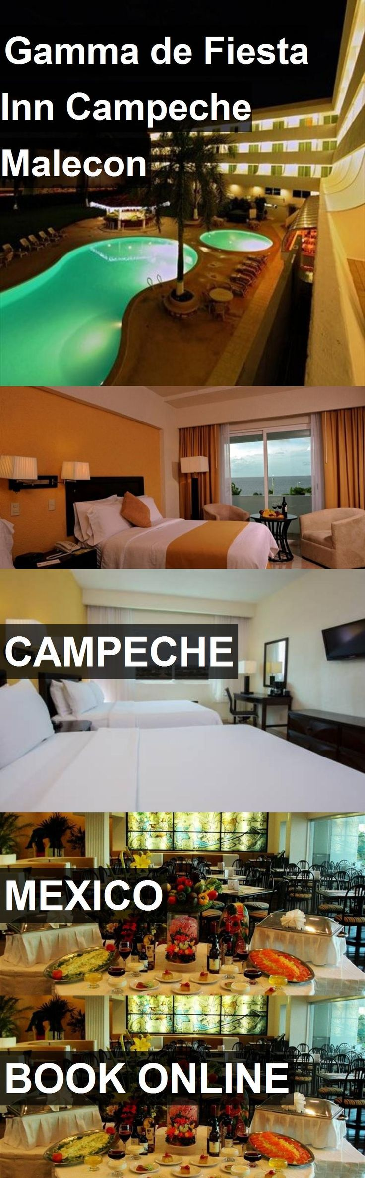 Hotel Gamma de Fiesta Inn Campeche Malecon in Campeche, Mexico. For more information, photos, reviews and best prices please follow the link. #Mexico #Campeche #travel #vacation #hotel