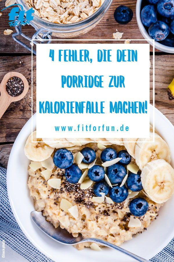 Haferbrei ist super gesund, aber Sie müssen darauf achten, dass Sie ihn nicht in die …   – Diät- und Abnehmtipps