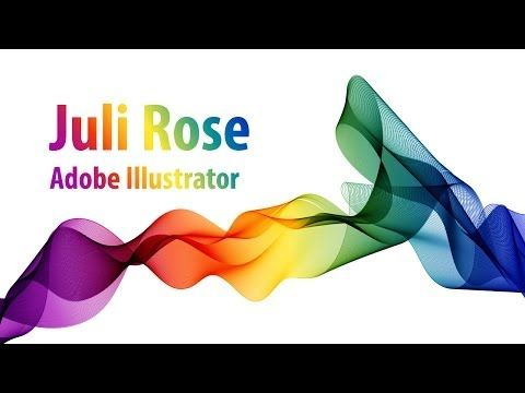 ▶ Уроки по Adobe illustrator / how to make drop in Adobe Illustrator / Julia Rose - YouTube
