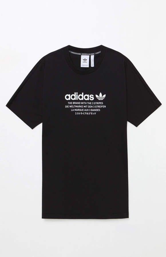adidas NMD Black T Shirt