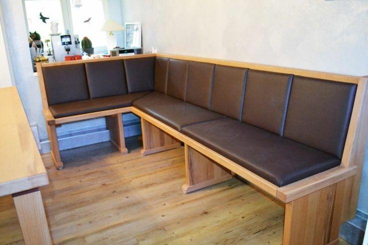 Sitzbank \/ Eckbank aus Holz, Gastronomie Einrichtung Bar - sitzbank küche mit lehne