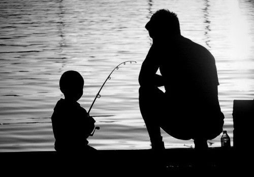 This describes me and my daddy my whole childhood :) we went fishing all the time! I love you dad!