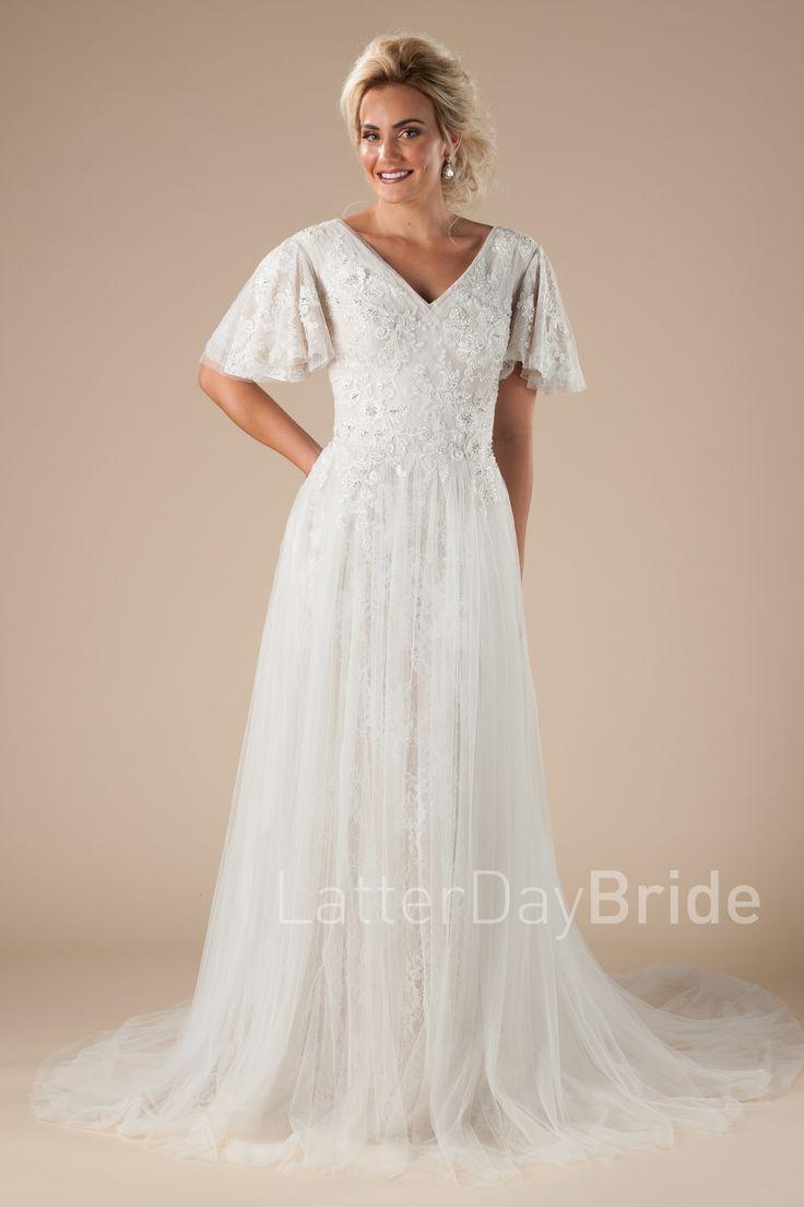 15 best Plus Size Modest Wedding Dresses images on Pinterest ...