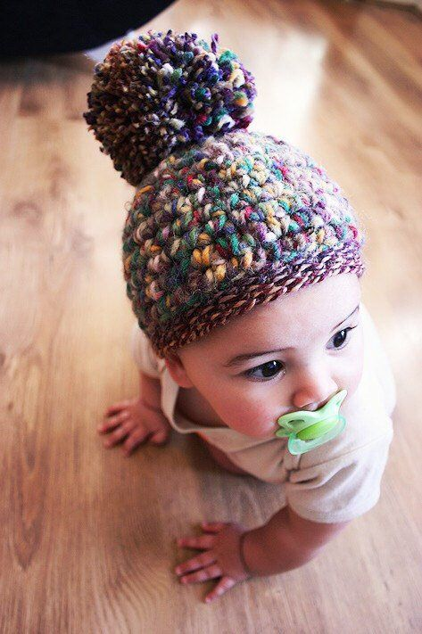 15baade78c7 Excited to share the latest addition to my  etsy shop  0 to 3m Newborn Fall Baby  Hat Pom Pom Beanie  babyaccessories  parenting  babyclothes  babyhat ...