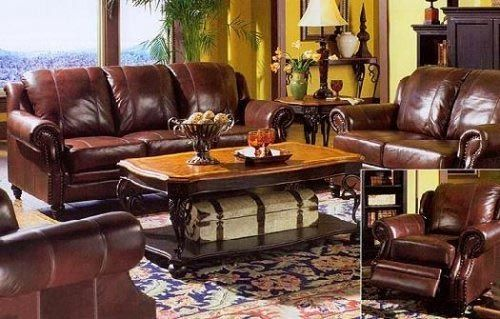 living room: Chairs Sets, Tried Ton, Living Rooms, Leather Couch, Burgundy Leather, Leather Sofas, Sofas Sets, Sofas Loveseats, Furniture