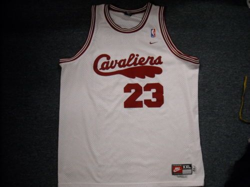 09924b1480ab Vintage Nike NBA Cleveland Cavaliers Lebron James Throwback Jersey Sze 2XL