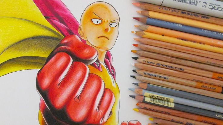 Speed Drawing Saitama    One Punch Man