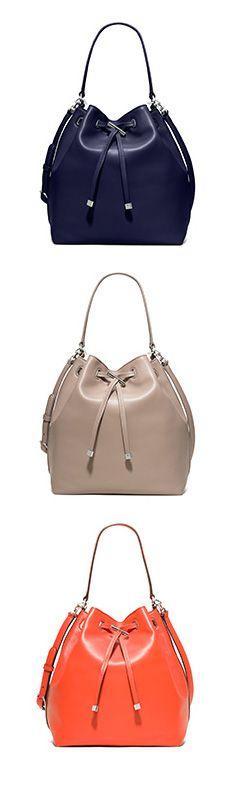 Tory Burch ~The Bucket Bag: The seasons's most-wanted silhouette.2015