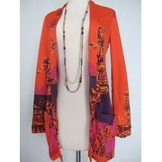 70s psychedelic cardigan by Katja of Sweden