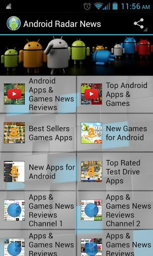 Get the latest Android games and apps news, reviews and information delivered right to your phone or tablet. Android Radar is a must have for all Android owners who really want to stay up to date with the latest Android news, Android reviews, new Android games, new Android apps.<br><b>Features:</b><br>•The latest Android news.<br>•New Android apps and games.<br>•Android reviews games and apps.<br>•What are currently the top Android games and apps.<br>•Videos: Top Android games and apps…