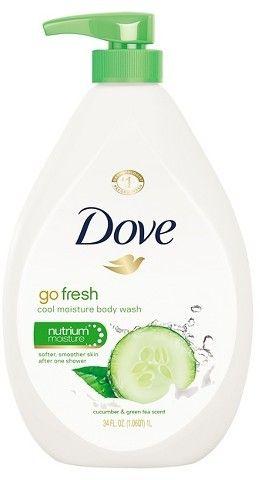 Dove go fresh Cucumber and Green Tea Body Wash - 34oz