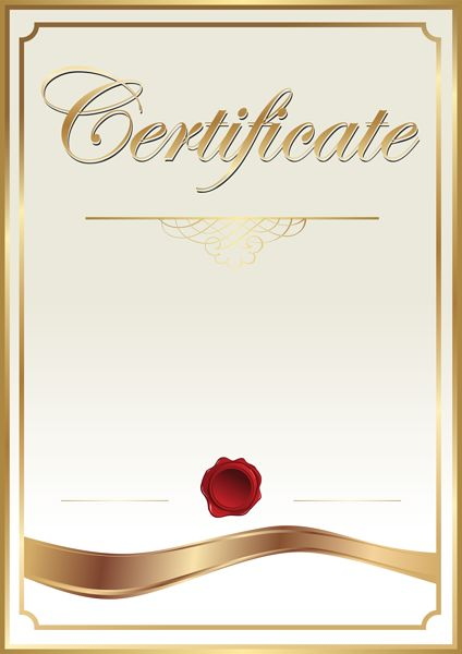 Certificate Template Clip Art PNG Image