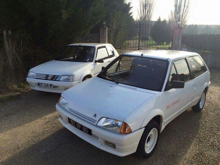 Citroen AX Sport vs Peugeot 205 Rallye