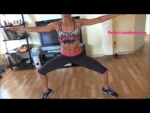 Inner thigh Burn workout