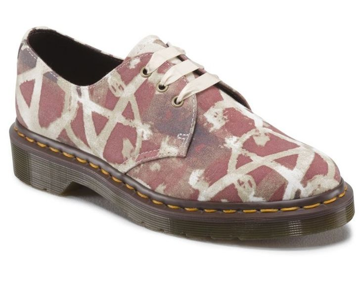 Dr. Martens Lester Classic Union Jack Anarchy Fine Canvas - 26954
