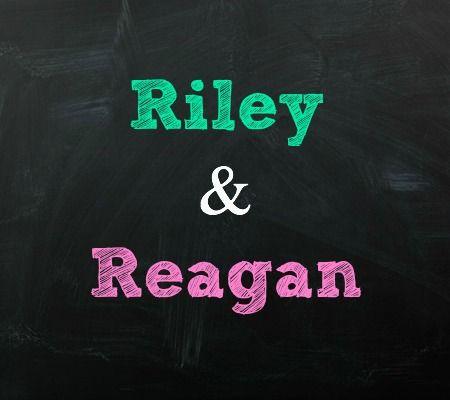 Riley and Reagan Twin Baby Names | Disney Baby