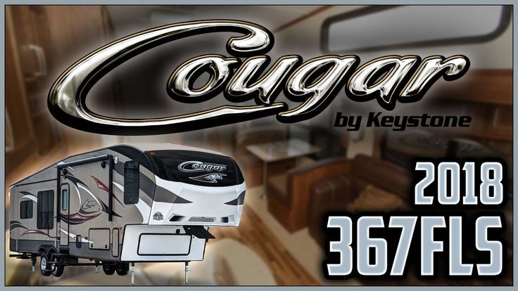2018 Keystone Cougar 367FLS Fifth Wheel RV For Sale Lakeshore RV Center Find out more about 2018 Cougar 367FLS at https://lakeshore-rv.com/cougar-rv/cougar-367fls/?pr=true call 231.760.8805 or stop in and see one today!  For families of all sizes who need quality and style the new 2018 Cougar 367FLS ticks all the boxes. Find yours today at Lakeshore RV Center!  This model is a double-axle fifth wheel with four slide outs two entry doors solid one-piece roof heated and enclosed underbelly…
