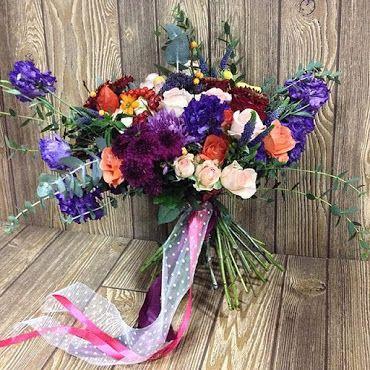 Флористическая композиция в подарок #kvantil-event