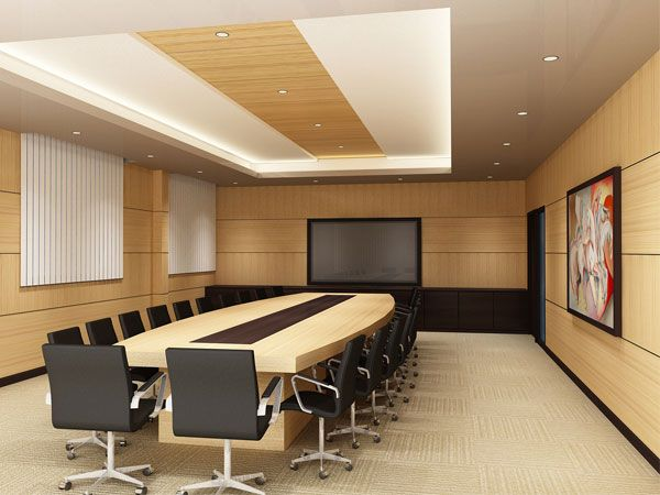 Conference Room Modular Furniture Max 3ds