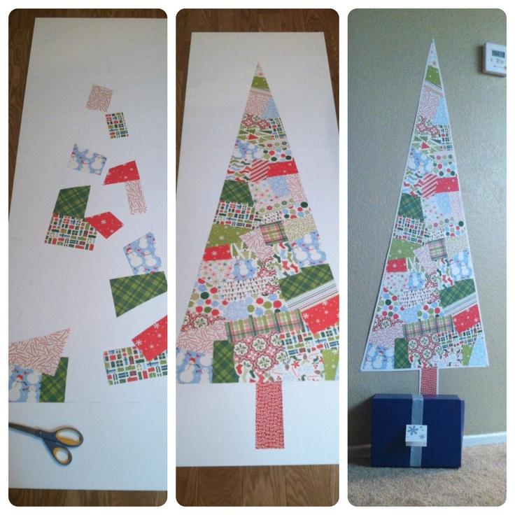 Holiday Scrap Christmas Tree!
