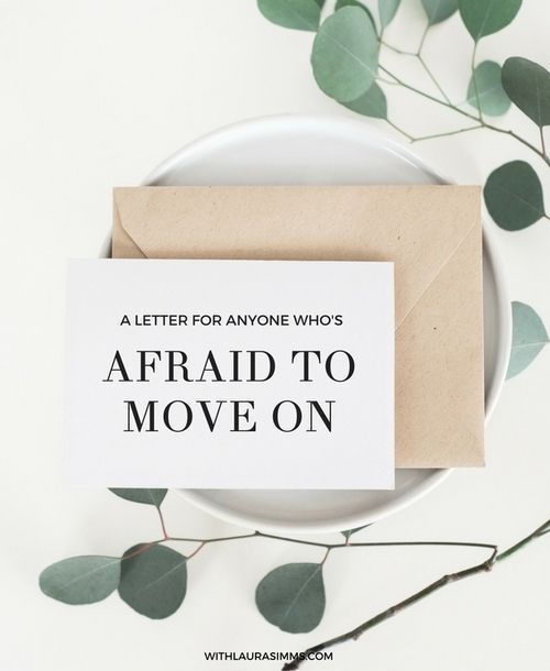 If you are struggling with moving on in the midst of career change, read this letter. It's from present me to past me.