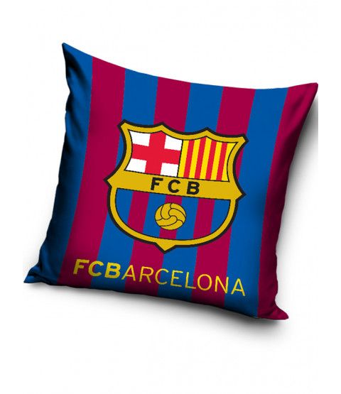 This FC Barcelona Stripe Filled Cushion makes a great addition to any fan's bedroom or as an accompaniment to your Barca duvet cover. Free UK delivery available.