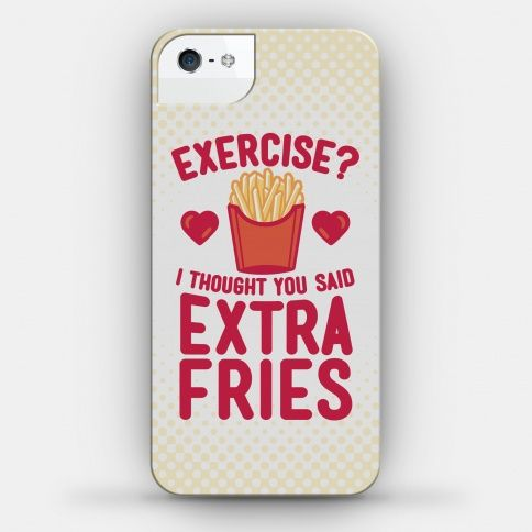Exercise? I Thought You Said Extra Fries   HUMAN