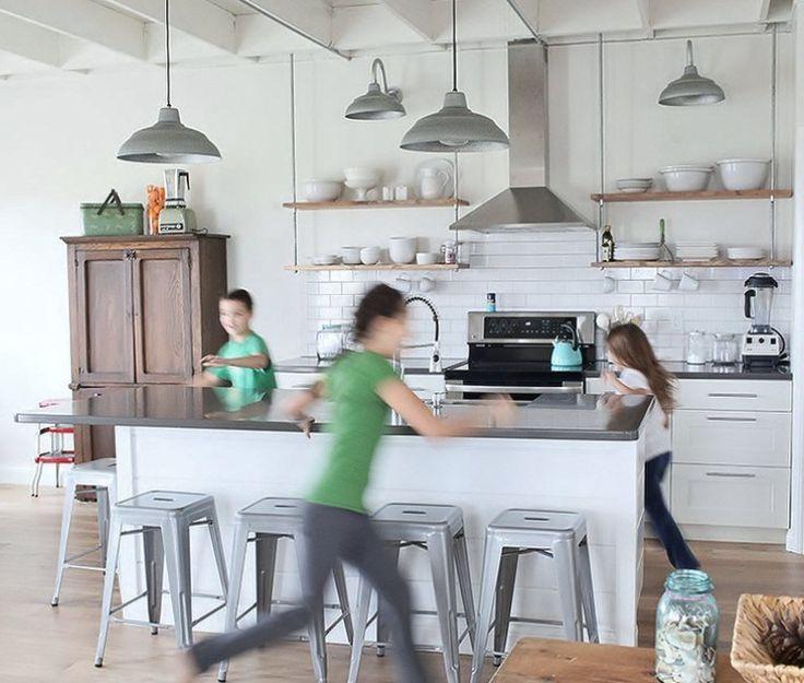 Industrial Farmhouse Kitchen 32 best interior design images on pinterest | kitchen, kitchen
