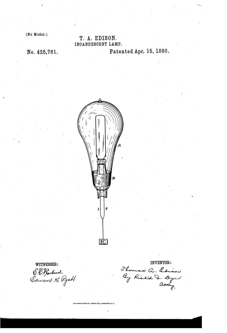 18 best images about Edison Patents on Pinterest ...