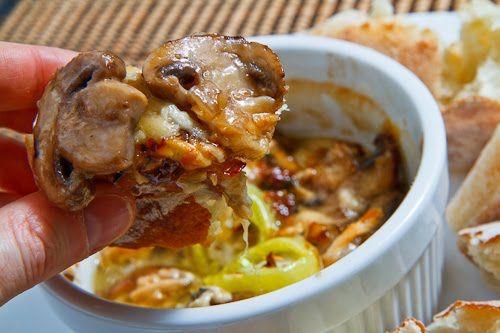 Mushroom Bouyiourdi | Recipe