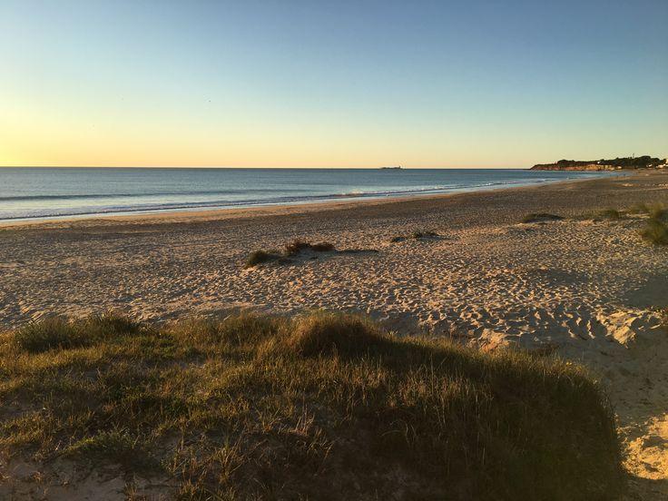 Winterabend | Playa La Barrosa | Andalusien #playalabarrosa #andalusien #sunset #spain #spanien #beach #strand #winter
