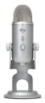 Amazon.com: Blue Microphones Yeti USB Microphone - Platinum: Musical Instruments
