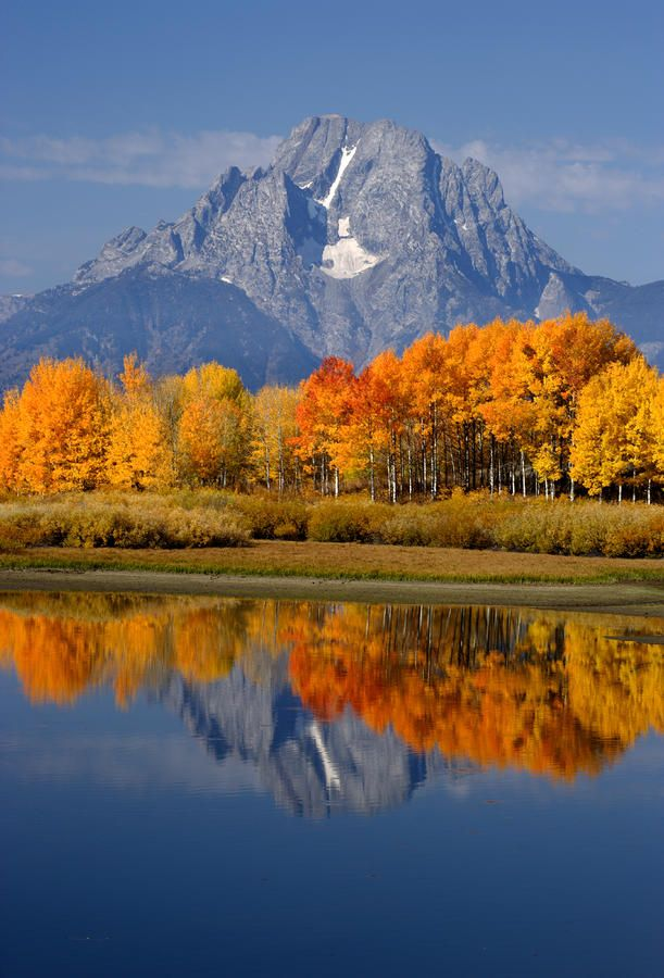 ✮ Mount Moran Reflections - Grand Teton National Park, Wyoming