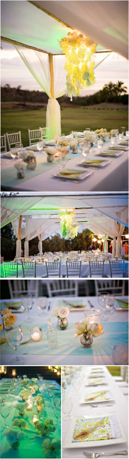 looking back to 2009 with an ombre wedding in maui by canvas u0026 canopy events & 27 best Canvas and Canopy Blog images on Pinterest | Canvas canopy ...