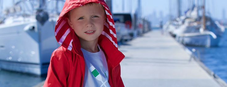 French Soda - boys 'Teddie' raincoat.