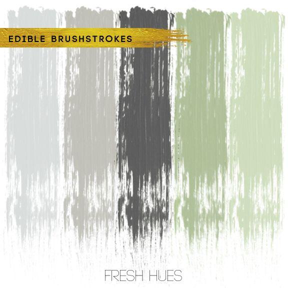 edible brushstrokes | fresh hues | color + inspiration