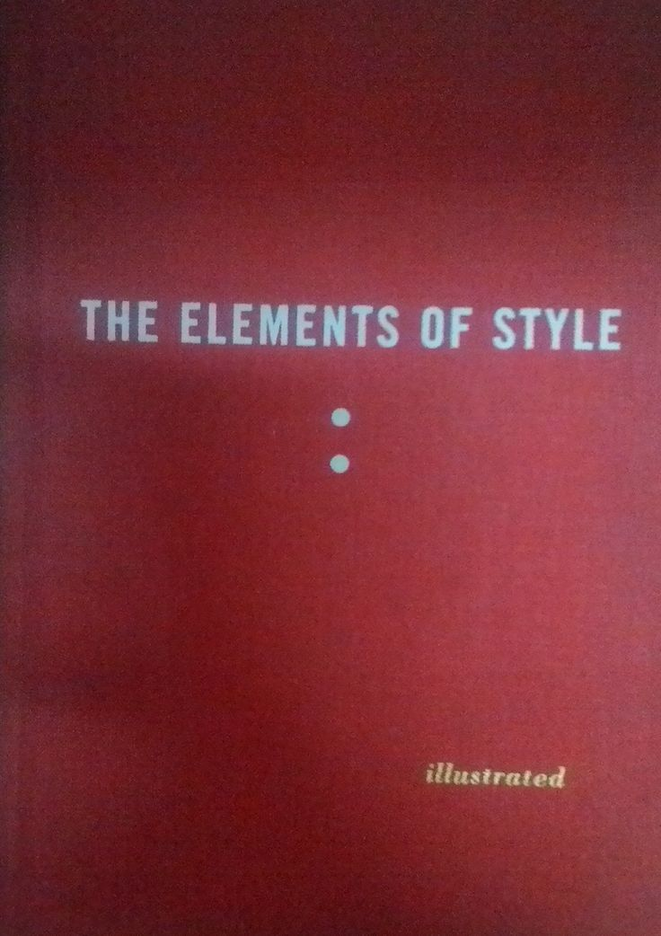 The Elements of Style #buku #bukuimport #sewabuku #perpustakaan