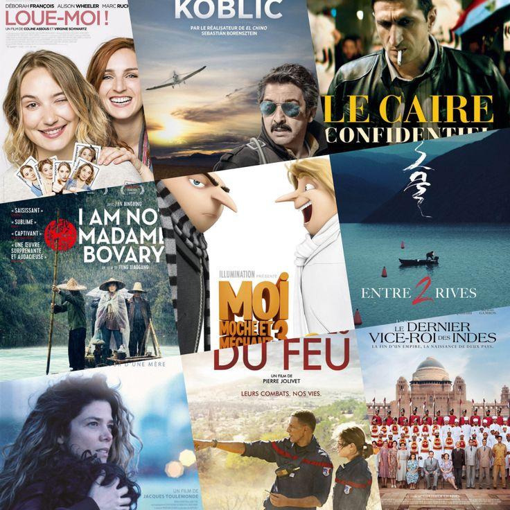 Sorties Cinéma : Mercredi 5 Juillet 2017